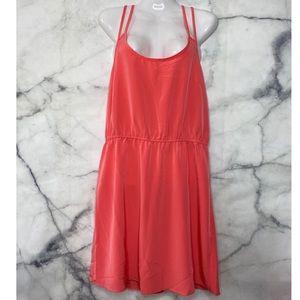 Forever 21 Neon Orange Dress for Spring Summer